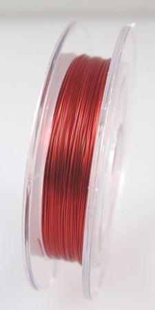 10m Spule Kupferdraht rot bunter Basteldraht 0,30mm Draht Wickeldraht Bindedraht – Bild 2