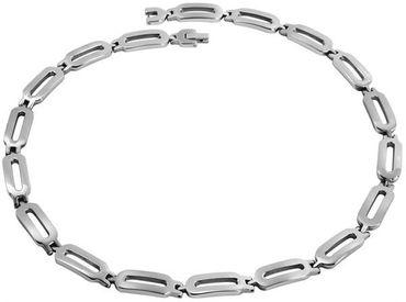 Herren Schmuckset 2tlg. Edelstahl Halskette 51cm Armband 20,5cm Herrenschmuck – Bild 1