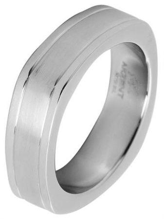 Edelstahlring Herrenring Ring silber Edelstahl 22mm Männerschmuck