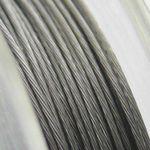 10m Schmuckdraht Basteldraht silber 0,38mm -822