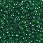 860x Glas Perlen Rocailles dunkelgrün 1,8mm Glasperlen zum Basteln  -1424