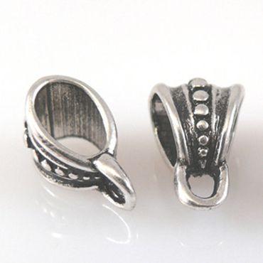 3 Metallperlen Beads Dangle altsilber 15mm Metall Perlen für Armbänder -698