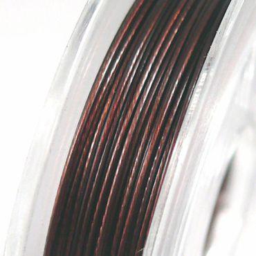 10m Schmuckdraht Basteldraht braun 0,38mm Bastelartikel -1235 – Bild 1