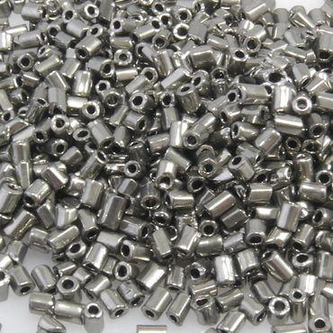 1050 St. Rocailles Glasperlen altsilber Perlen 2,8mm Rocaillesperlen Beads -656
