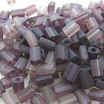 220 Rocailles-Stifte Glasperle Glasperlen-Mix lila 4mm -549