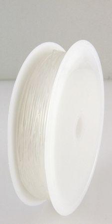 10m elastischer Nylonfaden transparent Ø 0,6mm Nylonschnur Gummischnur -622 – Bild 1
