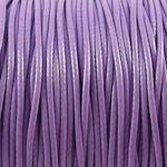 3m Wachsband Wachsschnur 1mm flieder €0,40/m Schnur aus Baumwolle lila -823