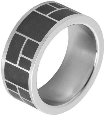 Herrenring 68mm Herren Ring Edelstahlschmuck silber 21,5mm Edelstahlring